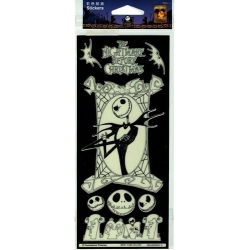 Nightmare Before Christmas Glow in the Dark Stickers 10