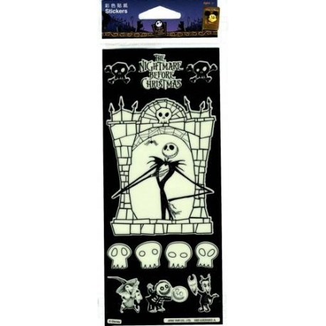 Nightmare Before Christmas Glow in the Dark Stickers 11
