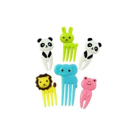 Japanese Bento Accessory Cute Food Pick Animal 10 pcs for Bento Box