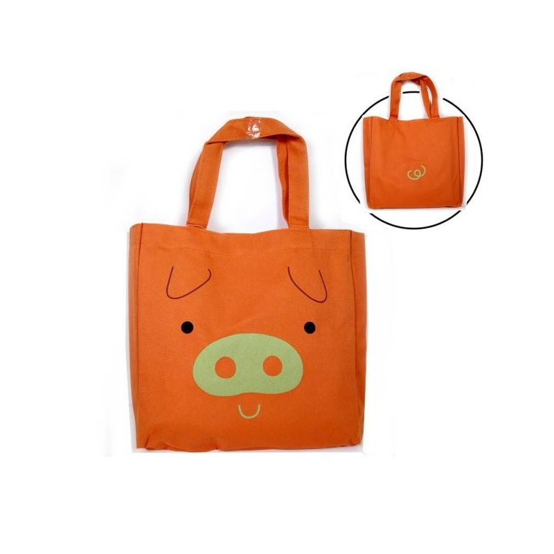 japanese bento accessories bento bag for bento lunch box orange pig. Black Bedroom Furniture Sets. Home Design Ideas