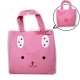 Japanese Bento Accessories Bento Bag for Bento Lunch Box Pink Rabbit