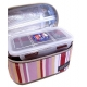 Microwavable Airtight Bento Lunch Box Set Lovely Red
