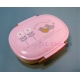 Japanese Microwavable Bento Box Lunch Box Pink Bird