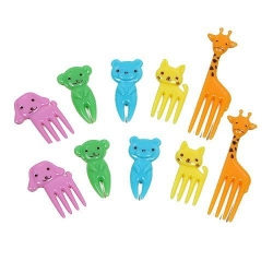 Japanese Bento Decoration Food Pick Cute Animal 10 pcs