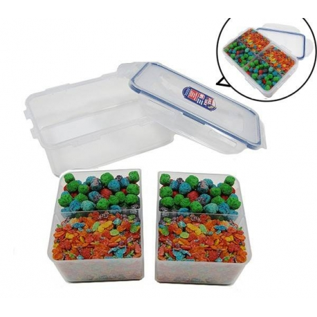 Microwave Dishwasher Safe Airtight Bento Box Lunch Box BPA Free Size L