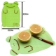 Japanese Bento Decoration Cutting Board Sheet with Cutting Line Green