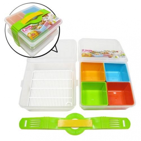 Made in Japan Microwavable Bento Box Lunch Box Set 2 tiers