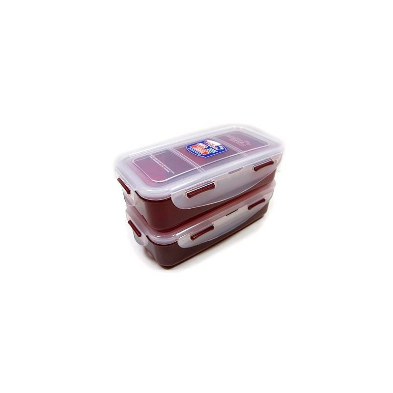 microwavable airtight bento lunch box set lovely red with bottle bentousa. Black Bedroom Furniture Sets. Home Design Ideas
