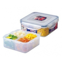 Microwavable Airtight 1.6L Bento Lunch Box BPA Free Dishwasher Safe