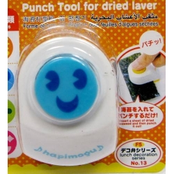 Japanese Bento Nori Cut Seaweed Cutter Puncher Happy Face
