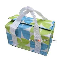 Japanese Bento Bag Insulated Lunch Bag for Bento Box - Blue