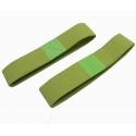 Japanese Bento Box Elastic Belt Lunch Box Bento Strap Green