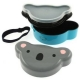 Japanese Bento Box 2 tier Lunch Box with Strap Duck Face -Round