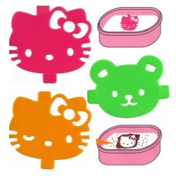 Hello Kitty Bento Food Separator Sheet Seasoning Mold