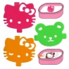 Japanese Bento Food Separator Sheet Seasoning Mold HELLO KITTY
