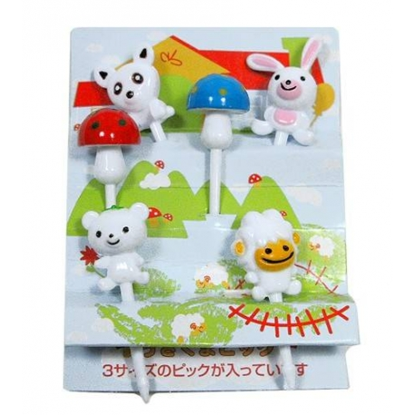 Japanese Bento Accessory Cute Food Pick Animal