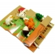 Japanese Bento Accessory Cute Food Pick Animal Squirrel