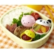 Japanese Bento Accessories Food Cup with Animal Head Lid 3 sets