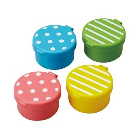 Japanese Bento Accessories Sauce Container set of 4 Lovely Mayo Cup