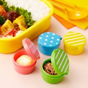 Japanese Bento Box Accessories Sauce Container Set Of 4 Lovely Mayo