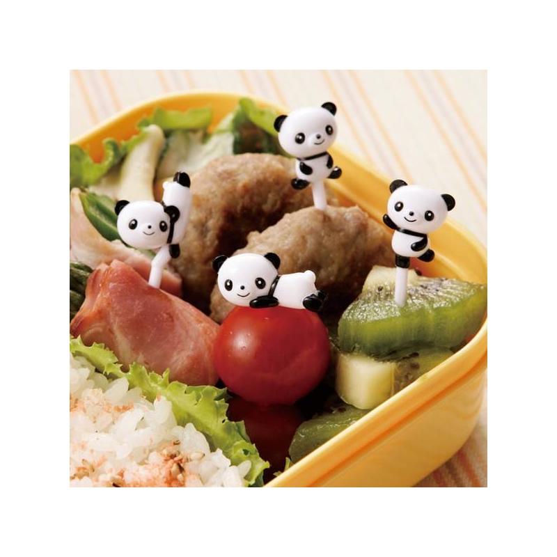 japanese bento accessory food pick panda 3d food picks 8 pcs for f. Black Bedroom Furniture Sets. Home Design Ideas