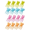 Japanese Bento Box Accessory Animal Fork Food Pick 12 Pcs