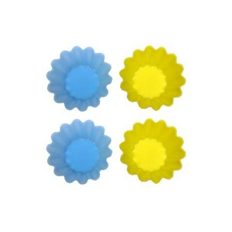 Japanese Bento Accessories Silicone Food Cup Flower 4 pcs