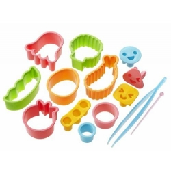 Japanese Bento Deco Cutter Ham Cheese Cutter Set 14 pcs
