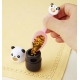 Japanese Bento Accessories Spice Container Furikake Panda with Spoon