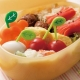 Japanese Bento Food Pick Leaf 10 pcs for Bento Box - Small