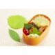 Microwavable Reusable Bento Baran Silicone Lettuce Leaf Sheet