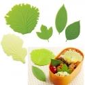 Microwavable Reusable Bento Baran Silicone Lettuce Leaf Sheet