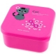 Microwavable Japanese Bento Box Lunch Box Cute Pink Cat 555 ml