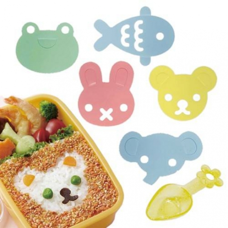 Japanese Bento Furikake Mold Sheet Seasoning Mold Animal
