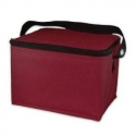 Easylunchboxes Cooler Insulated Bento Lunch Bag - Dark Red