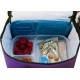 Easylunchboxes Cooler Insulated Bento Lunch Bag - Purple