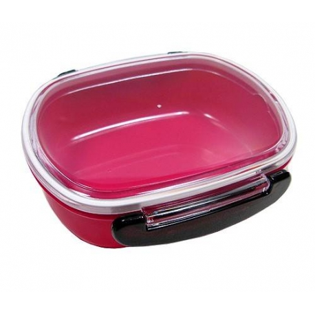 japanese microwavable 1 tier bento box lunch box oval pink for be. Black Bedroom Furniture Sets. Home Design Ideas