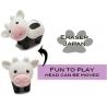 Cute Japanese Eraser Set Collectible Cow