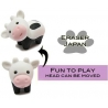 Cute Japanese Eraser Set Collectible Cow