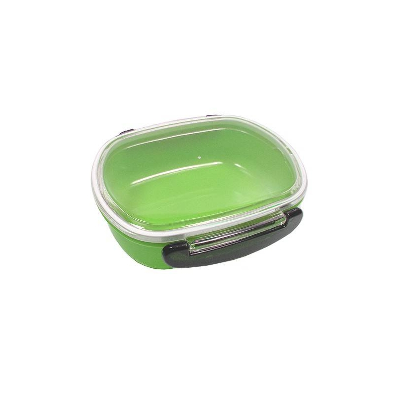japanese microwavable 1 tier bento box lunch box oval green for o. Black Bedroom Furniture Sets. Home Design Ideas