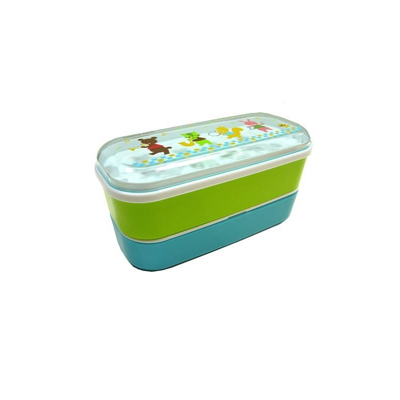 microwavable japanese bento box lunch box bear for out of stock. Black Bedroom Furniture Sets. Home Design Ideas