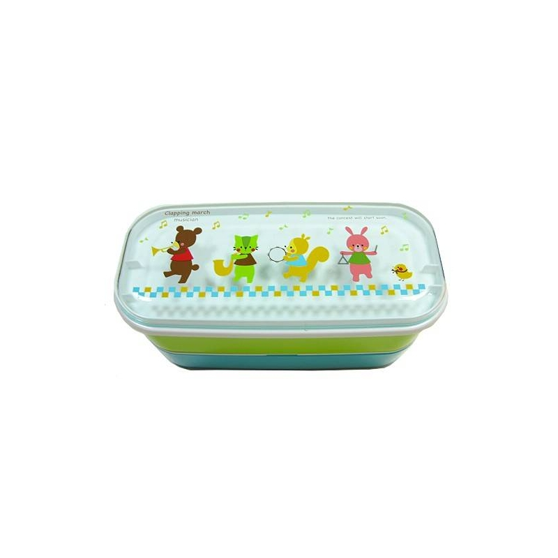 microwavable japanese bento box lunch box bear for out of. Black Bedroom Furniture Sets. Home Design Ideas