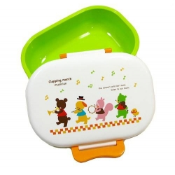 Microwavable Japanese 1 tier Bento Box Lunch Box - Bear