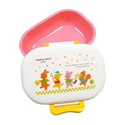 Microwavable Japanese 1 tier Bento Box Lunch Box - Pink