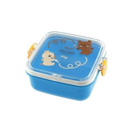 Kotobuki Bear and Piggy Bento Snack Container