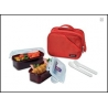 Microwavable Airtight Bento Lunch Box Set Dishwasher Safe 4.3 cups