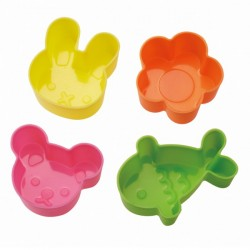 Microwavable Bento Silicone Food Cup 4 Animal