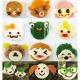 Decorative Bento Cutter Ham Cheese Cutter Set 15 Facial Expression