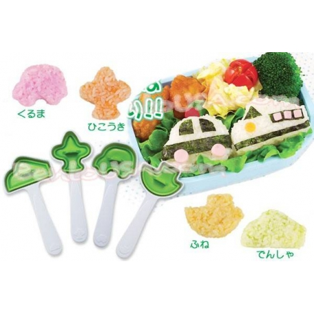 Bento Rice Mold Onigiri Mould 4 Shapes for Boy