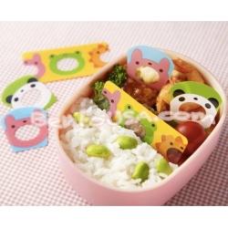 Microwavable Bento Baran Food Partition Sheet Set 12 pcs